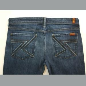 7 For All Mankind Jeans Flynt Bootcut Size 31